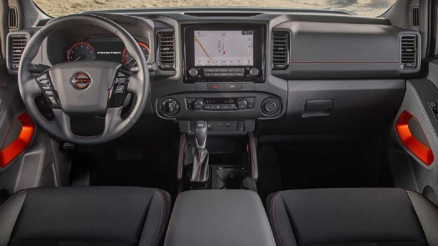 2022 Nissan Frontier Pro-X interior