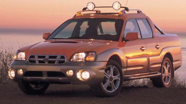 2022 Subaru Baja Pickup Truck design