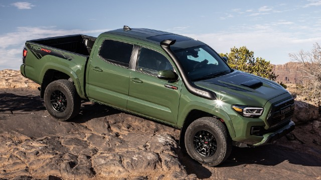 2022 Toyota Tacoma TRD Pro Colors