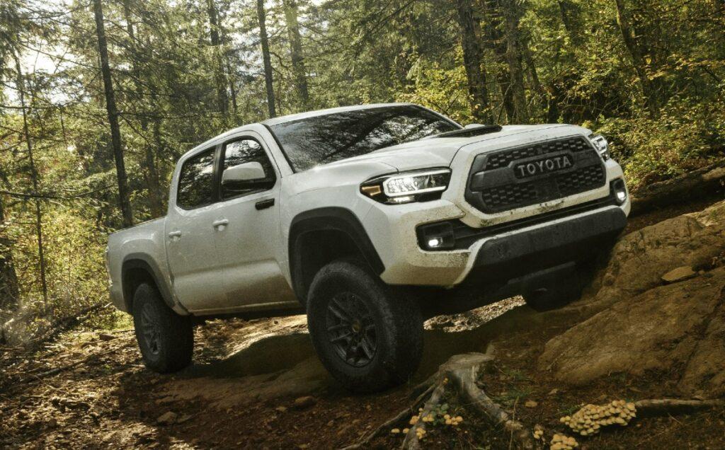2022 Toyota Tacoma TRD Pro White