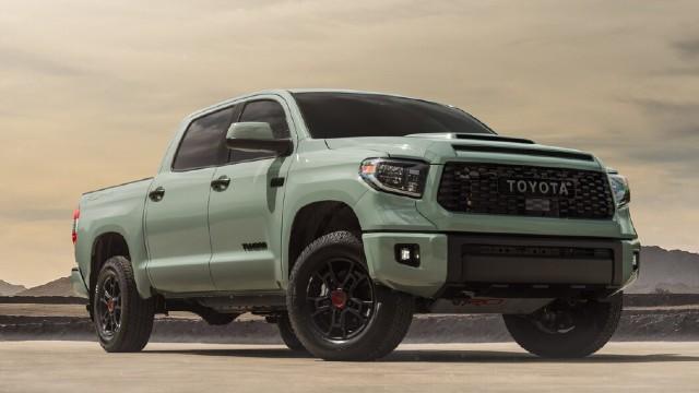 2022 Toyota Tundra TRD Pro colors