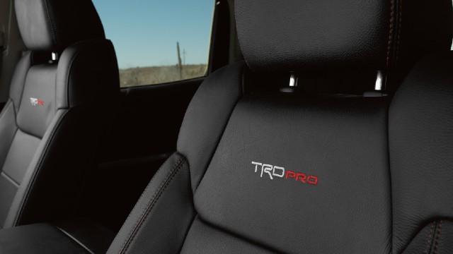 2022 Toyota Tundra TRD Pro interior