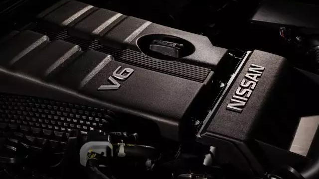 2022 Nissan Frontier Nismo engine