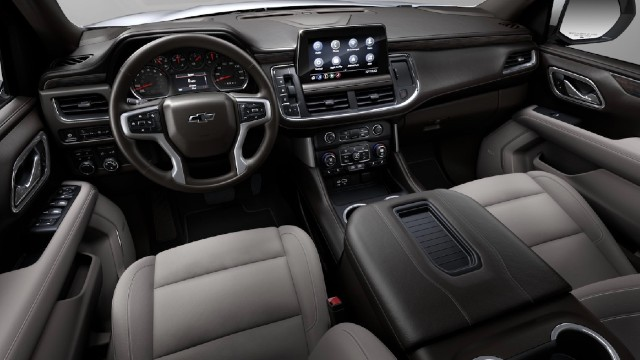 2023 Chevy Silverado Electric interior