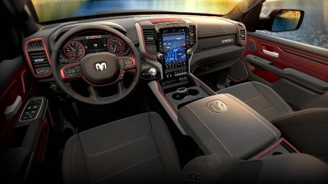 2022 Ram 1500 GT Package interior