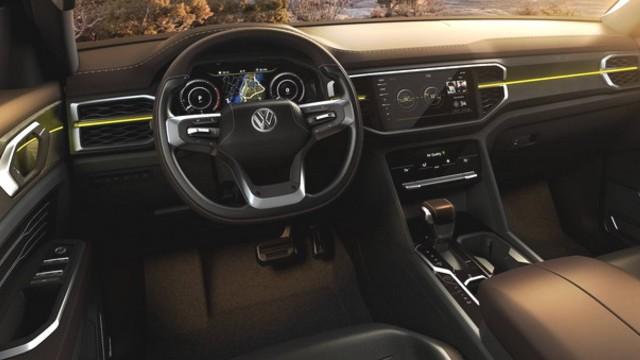 2022 VW Atlas Tanoak interior