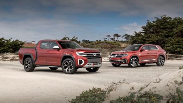 2022 VW Atlas Tanoak pickup truck