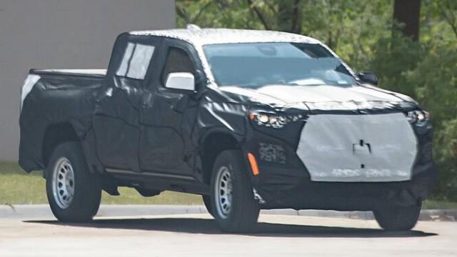 2023 Chevy Colorado redesign