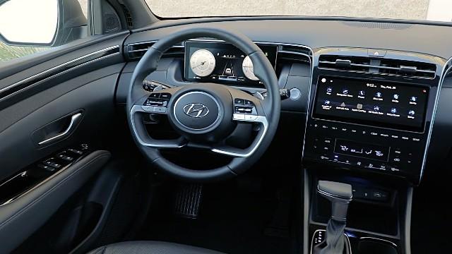 2023 Hyundai Santa Cruz interior