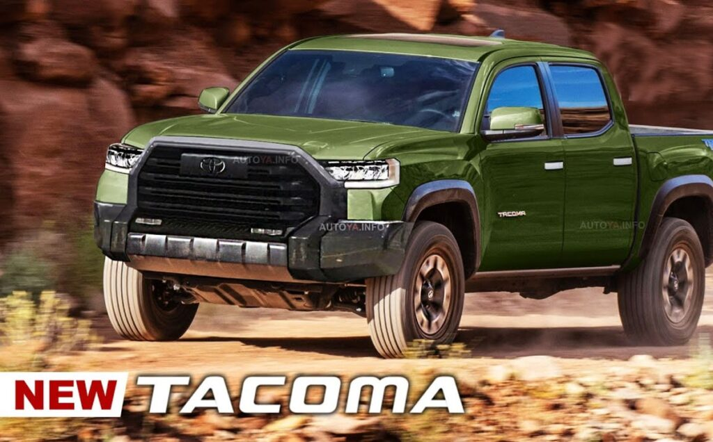 2023 Toyota Tacoma release date