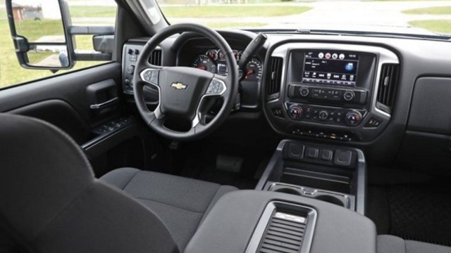 2023 Chevy Silverado 3500HD interior