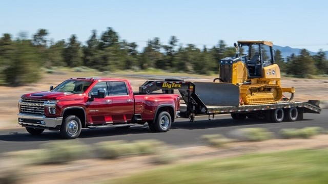 2023 Chevy Silverado 3500HD towing capacity