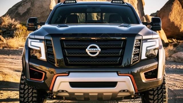 2023 Nissan Titan grille