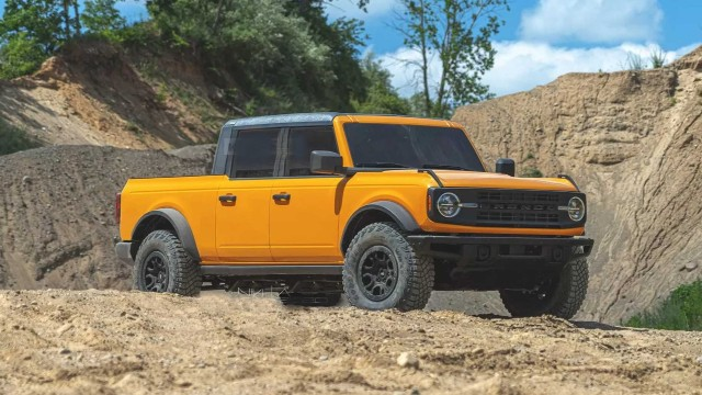 2023 Ford Bronco Pickup release date