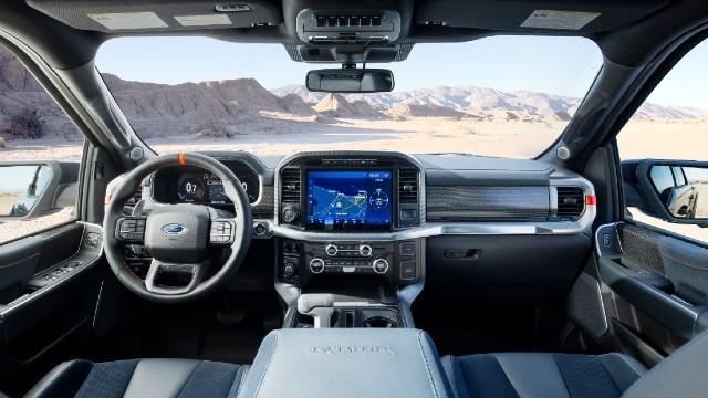 2023 Ford F-150 Raptor R interior