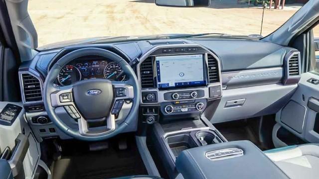 2023 Ford F-350 interior