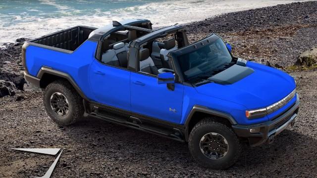 2023 GMC Hummer EV colors