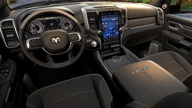 2023 Ram HD interior